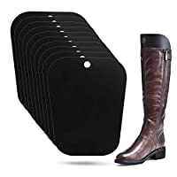 E-PRANCE 5 Pairs Boot Shaper Reusable Boots Support Stand Form Inserts for Women and Men