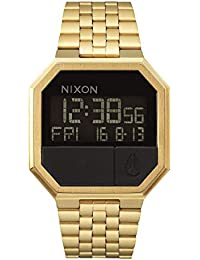 Re-Run A158502-00. Men's Digital Gold Watch (38.5mm Digital Watch Face. 13-18mm All Gold Band)