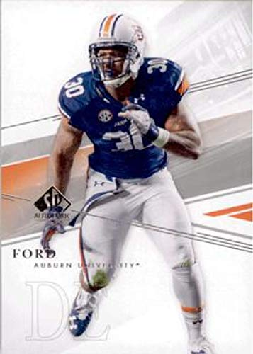 2014 SP Authentic #38 Dee Ford NM-MT Auburn Tigers Official Collegiate Football Card