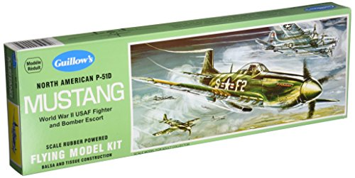 Guillow's North American P51D Mustang Model Kit (Guillows Model Airplane Kits compare prices)