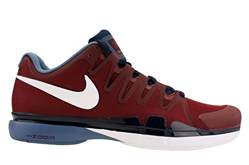 Nike ZOOM VAPOR 9.5 TOUR mens tennis-shoes 631458-614_8 - TEAM RED/OBSIDIAN/OCEAN FOG/WHITE (Nike Zoom Vapor Shoes compare prices)
