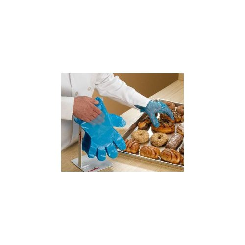 FoodHandler 104-FHQFX17 QuickFit L/XL Poly Gloves - 2000/CS by BUNZL