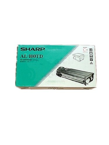 Genuine Sharp AL-100TD (AL-100TDN) Black Toner / Developer Cartridge ()