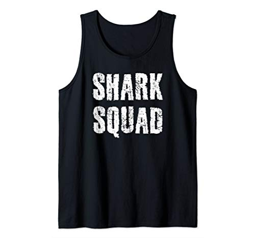 SHARK SQUAD Art Funny Gift Week Bride Day Idea  Tank Top]()