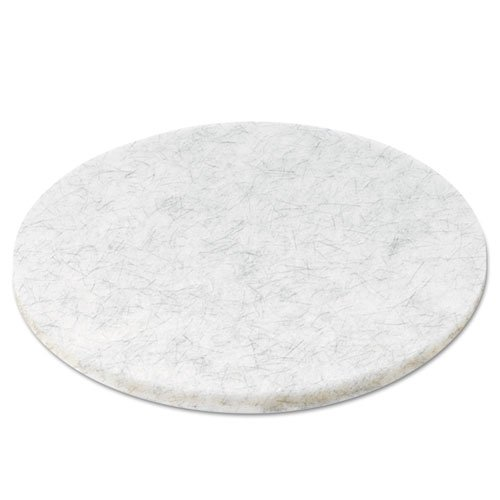 Ultra High-Speed Floor Pads, Natural Hair/Polyester, 20'' dia,