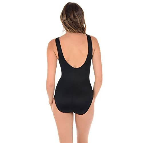 Miraclesuit Women's Spectra Somerset One Piece High Neck Swimsuit