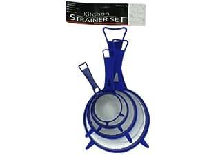 Bulk Buys HS018-36 Kitchen Strainer Set