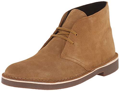 Clarks Men's Bushacre 2 Chukka Boot, Wheat Suede, 10.5 M US