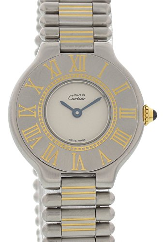 Price comparison product image Cartier Must de quartz womens Watch Does Not Apply (Certified Pre-owned)