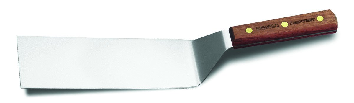 Dexter 8 x 3 Hamburger Turner with Square End, Brown by Dexter-Russell