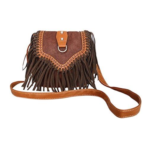 Leather Shoulder Messenger Crossbody Handbag