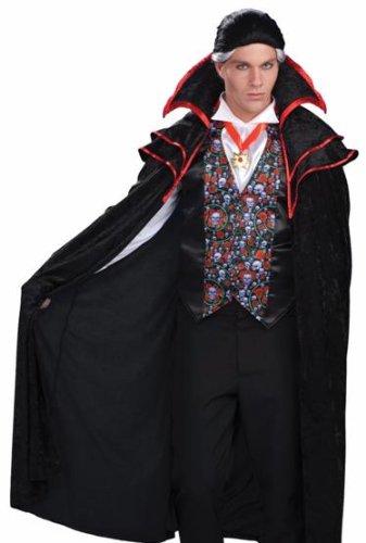 Amazon.com: Forum Count Dracula gótico calavera adulto para ...