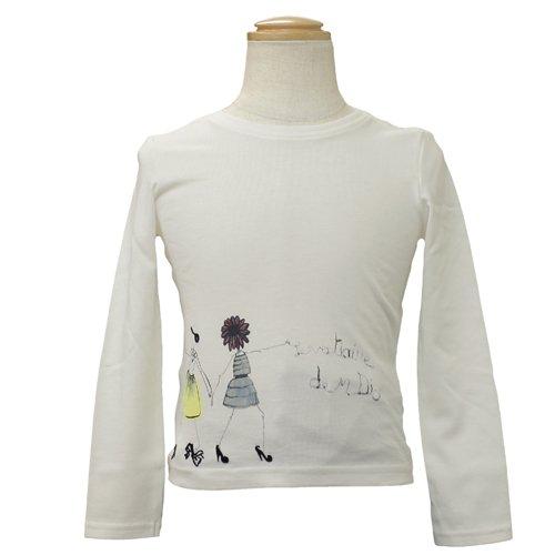 [クリスチャンディオール] Christian Dior 長袖Tシャツ CD-0255IV 8Aサイズ 8Aサイズ  B008HYZCQI