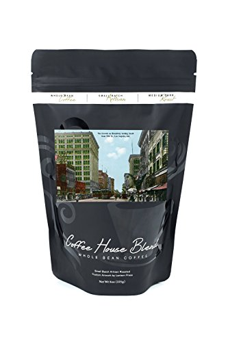 Los Angeles, California - South View down Broadway from 5th Street (8oz Whole Bean Small Batch Artisan Coffee - Bold & Strong Medium Dark Roast w/ - Angeles Los Street South