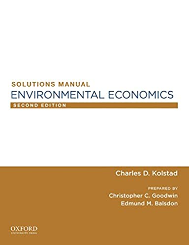 environmental economics sm professor of environmental economics and rh amazon ca Ecological Economics Environmental Economics Jobs