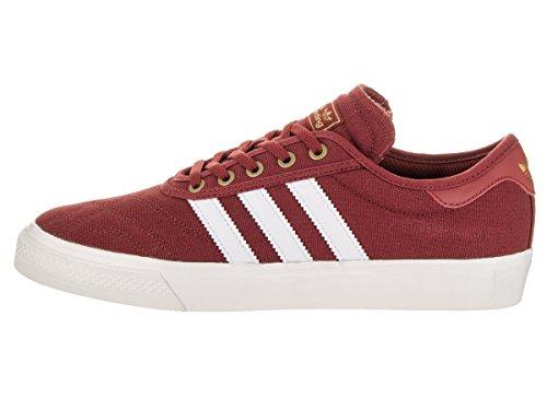 Adidas Heren Adi-ease Première Fashion Sneaker Mystery Rood / Kristal Wit / Goud Metallic