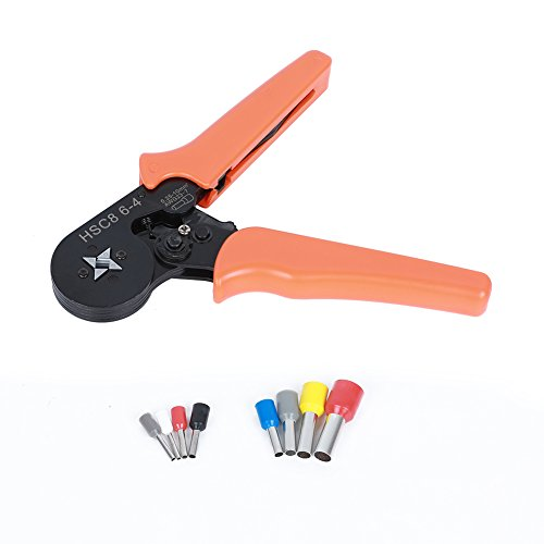 ValueHall 1200pcs Wire Ferrules Crimper Plier Set, Professional Laborsaving Crimper Plier for 0.25-6mm² Self-adjustable Ratchet Wire V7001-1 by ValueHall (Image #5)