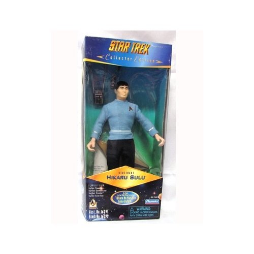 Series Trek Star Collector (Star Trek Original Series: Collectors Series Lieutenant Hikaru Sulu 9 inch Action Figure)