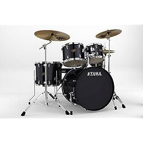Tama Imperialstar IP52KC 5-Piece Drum Set w/Hardware & Cymbals 10