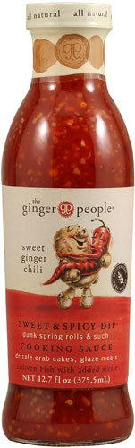 Ginger People Cooking Sauce Sweet Ginger Chili -- 12.7 fl oz - 2 pc (Sweets People)
