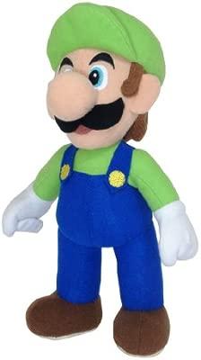 Nintendo Super Mario 9801 - Peluche de Luigi (24 cm)