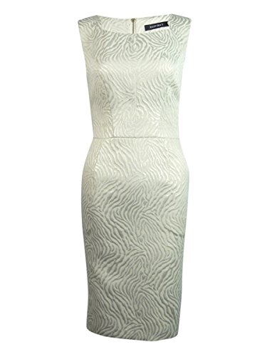 metallic animal print dress - 1