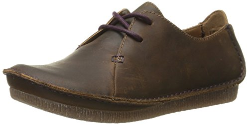 CLARKS Oxford Mae Janey Women's Beeswax xzx7TwpCq