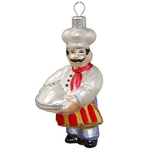Cook in Chef's Hat Christmas Ornament Varsovia of Poland