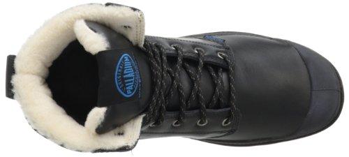 bajo Sport Unisex botas WPS Dark PalladiumPampa Negro tacón Cuff Gum de y adulto Schwarz Black botines a81nFwx