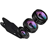 ANGFLY 3 in 1 Phone Camera Lens, Universal 138°HD Wide...