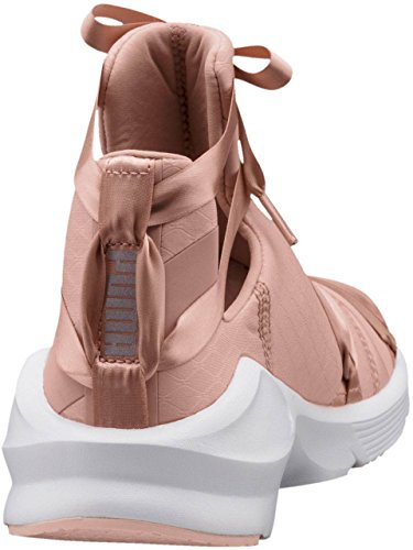 PUMA Women's Fierce Rope Satin EP Peach Beige White/Pearl 10.5 B US mkr1iX