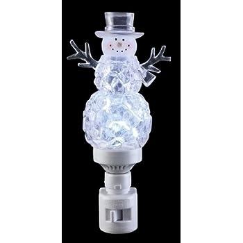 Roman 33676 7 Quot Christmas Tree Bubble Light Night Light
