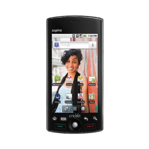 amazon com sanyo zio m6000 cricket android touchscreen smartphone rh amazon com Cell Phone Battery Sanyo Zio Sanyo Zio Android 2.2