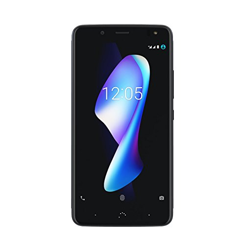 bq c000299 13,97 cm (5,5 Pulgadas) Smartphone Aquaris V Plus (64 + 4GB) (12MP Cámara, Qualcomm Snapdragon 435 Octa Core, Android 8 Oreo.), 152,3 X 76,7 X 8,4 mm Deep Negro