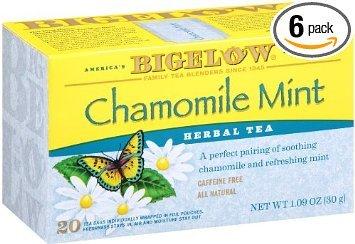Bigelow Tea, Chamomile Mint, 20bags, 1.09oz