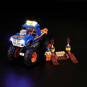 BRIKSMAX Kit di Illuminazione a LED per Lego City Monster Truck, Compatibile con Il Modello Lego 60180 Mattoncini da…  LEGO