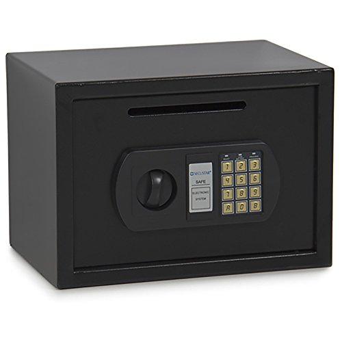 Eight24hours 0.8CF Digital Home Hotel Depository Security Drop Box Safe for Cash Jewelry Gun