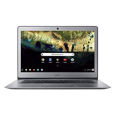 """Acer Chromebook 14, Celeron N3160, 14"""" Full HD, 4GB LPDDR3, 16GB eMMC, CB3-431-C9W7 Bundle, Silver from Acer"""