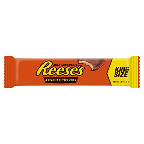 034000004805 - REESE'S Peanut Butter Cup, Milk Chocolate Covered Peanut Butter Cup Candy, 2.8 Ounce Package (Pack of 144) (Halloween Candy) carousel main 0