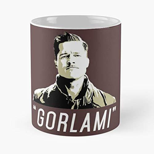 - Gorlami Brad Pitt Inglorious Basterds Tarantino Coffee Mugs Best Gift, Funny Cup