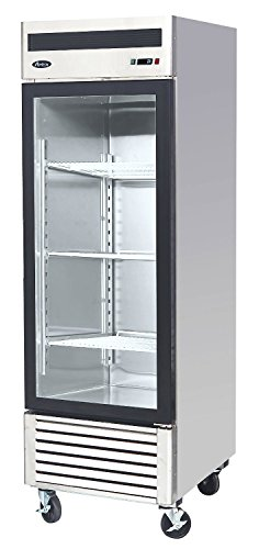 Atosa USA MCF8705 Series 27-Inch Glass Single Door Merchandiser Upright Refrigerator