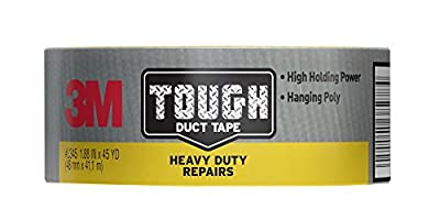 3M Tough Heavy Duty Repairs Duct Tape, 1.88-Inch x 45 Yard by 3M CHIMD