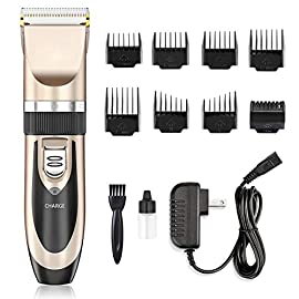 Hair Clippers - Nicewell Low Noise Hair Clippers for Men Kids, Cordless Hair Trimmer Grooming Kit with 8 Attachment Guide Combs for Hair Cutting - 41aizbB4XQL - Hair Clippers – Nicewell Low Noise Hair Clippers for Men Kids, Cordless Hair Trimmer Grooming Kit with 8 Attachment Guide Combs for Hair Cutting