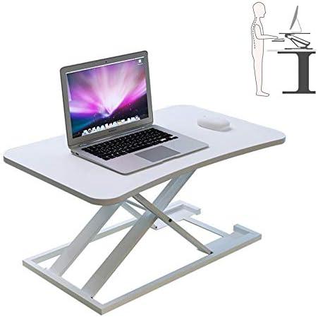 調節可能なラップトップスタンド/シットノートブックコンピュータ用/デスク/高さ調節可能な卓上スタンド/アップデスクワークステーションを立ちデスクスタンド,C