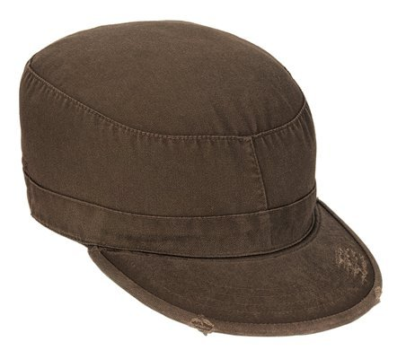 - ROTHCO VINTAGE FATIGUE CAP - Brown