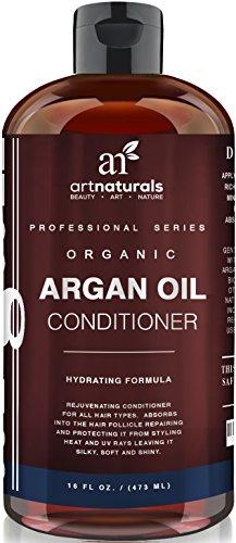 Art Naturals Arganöl Conditioner 473 ml, Beste Haarspülung für Beanspruchtes, Strapaziertes und Trockenes Haar | Naturrein & Sulfat Frei | Feuchtigkeitsspendend & Pflegend
