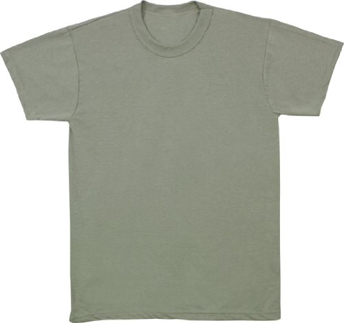 Wicking T-shirt Military Moisture - Foliage Green Moisture Wicking ACU T-Shirt (100% Polyester) 9565 Size Small