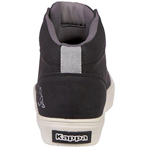 Kappa Tormes, Baskets Basses Mixte Adulte, Noir Noir (1111 Black)