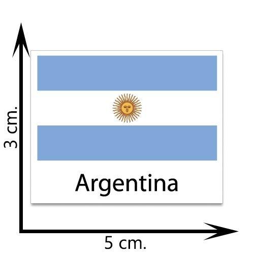 Top Argentina Flag Temporary Tattoos Sticker Body Tattoo