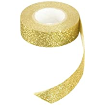 Best Creation Glitter Tape, 15mm by 5m, Gold